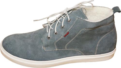 Обувь Marko Cambio 22413 сер ботинки,кеды больших размеров