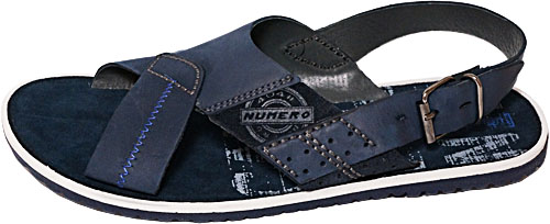 Обувь Rich J-200-синий сандалии лето