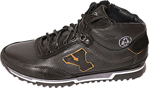 Обувь MooseShoes York чёрн ботинки,кроссовки зима