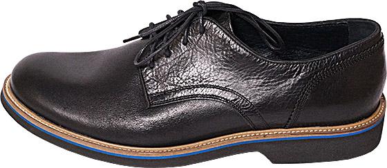 Обувь Badura 2801 чёрн туфли,полуботинки межсезонье