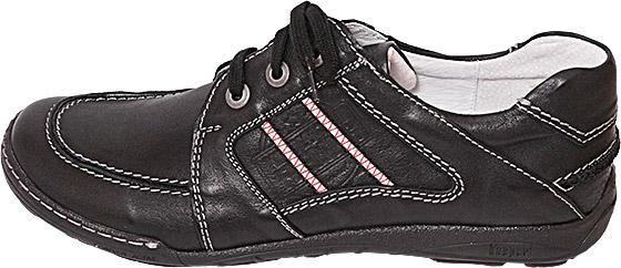 Обувь Kacper 1-4200 163 чёрн комфорты,кроссовки больших размеров