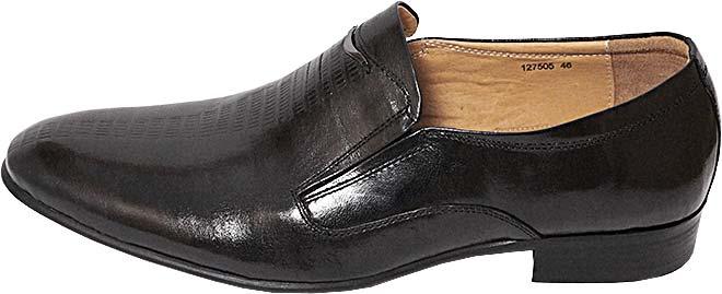Обувь TerraImpossa 127505 черн. туфли больших размеров