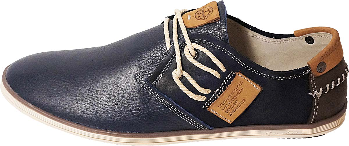 Обувь MooseShoes Verona син. комфорты,кеды