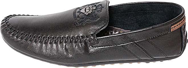 Обувь MooseShoes c142 чёрн. мокасины лето, межсезонье