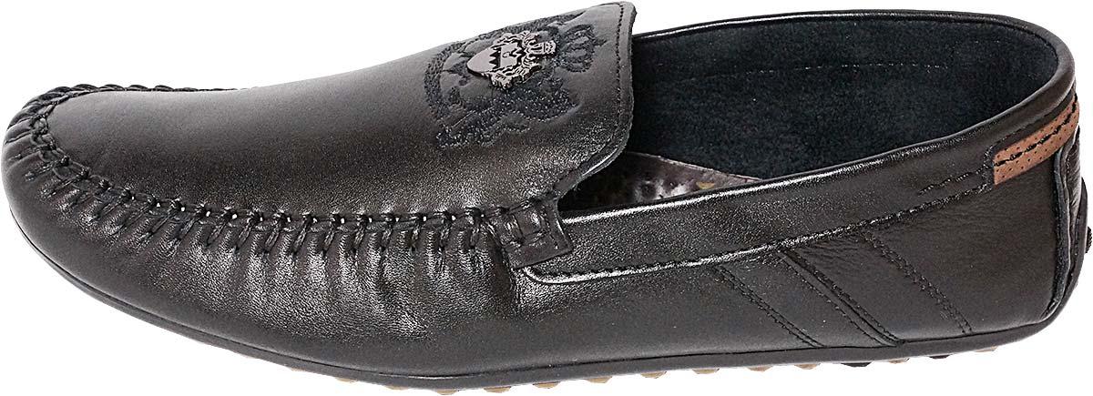 Обувь MooseShoes c142 чёрн. мокасины