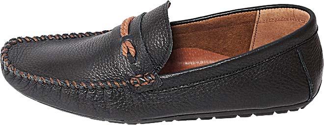 Обувь MooseShoes Moose А62 чёр. мокасины лето, межсезонье