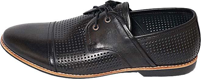 Обувь TerraImpossa 111904 черн. туфли лето