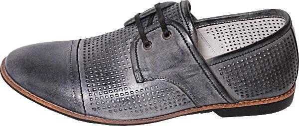 Обувь TerraImpossa 111904 сер. туфли лето