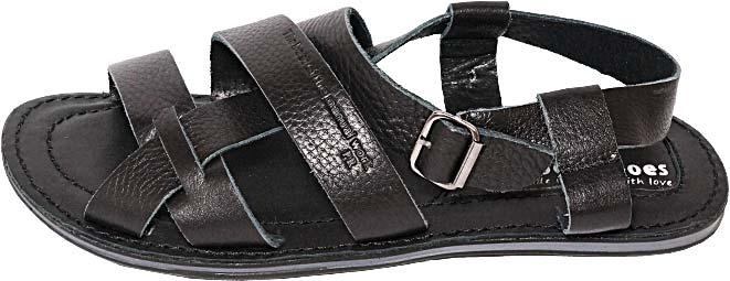 Обувь MooseShoes 948-30 черн. сандалии лето