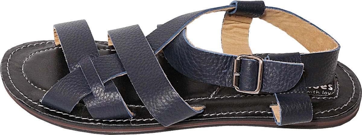 Обувь MooseShoes 948-47 син. сандалии