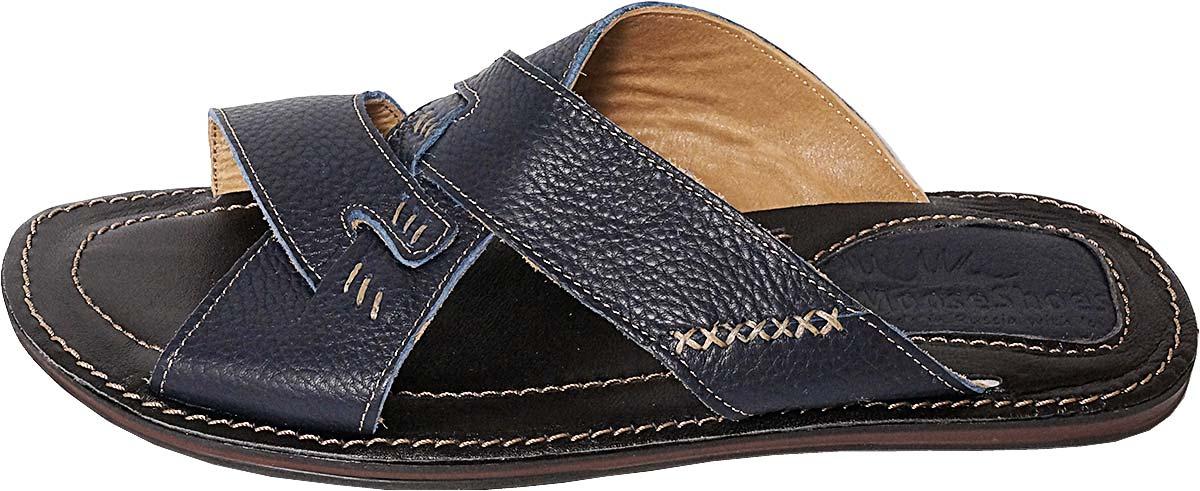 Обувь MooseShoes 932-2-47 син. шлёпанцы