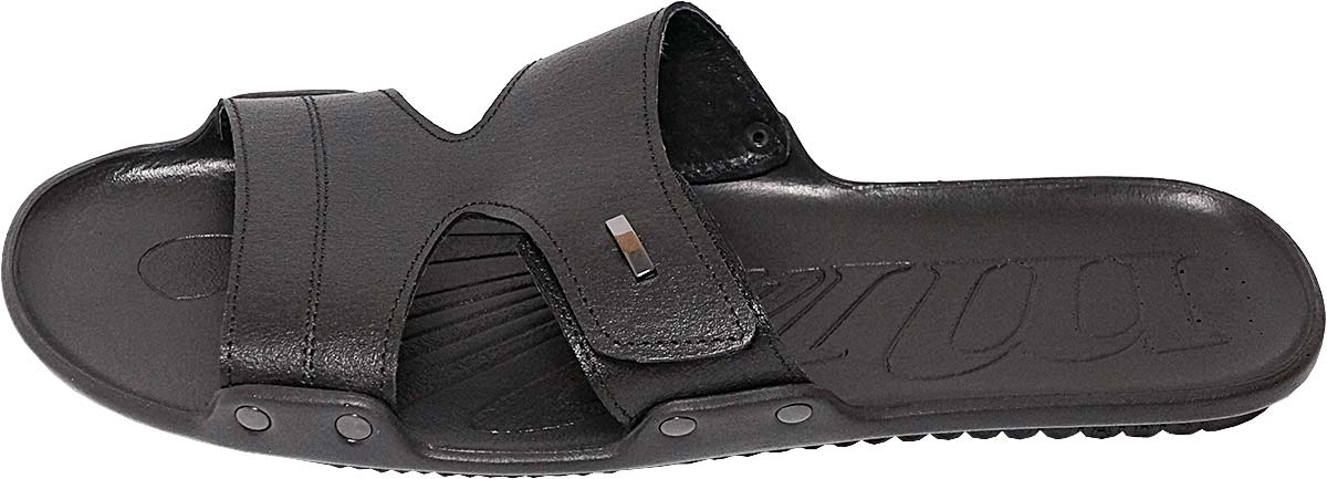 Обувь MooseShoes Asket чёрн. шлёпанцы