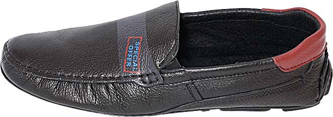 Обувь MooseShoes Rich чёрн.  мокасины лето, межсезонье