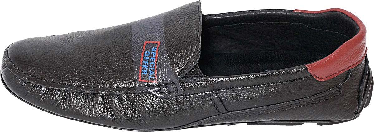 Обувь MooseShoes Rich чёрн.  мокасины