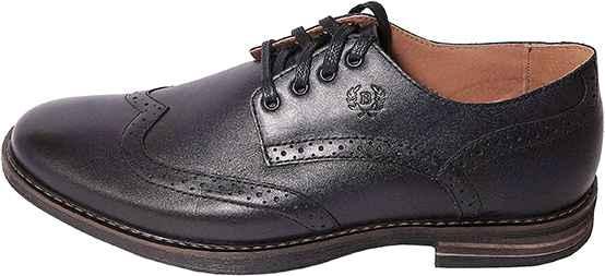 Обувь MooseShoes Brogue син. туфли межсезонье