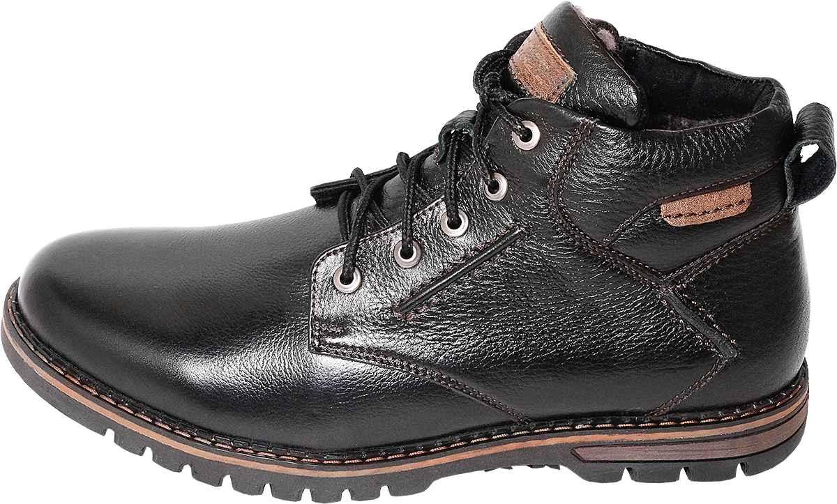 Обувь MooseShoes Бычий рёв черн. ботинки
