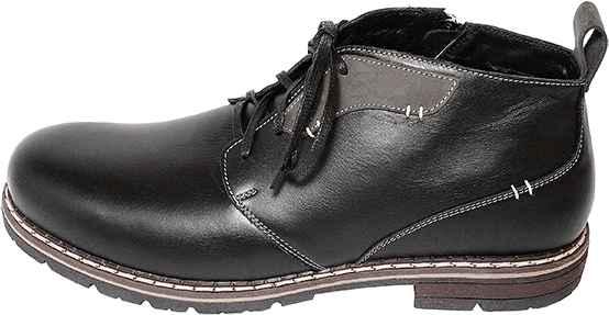 Обувь MooseShoes 76 черн. ботинки больших размеров