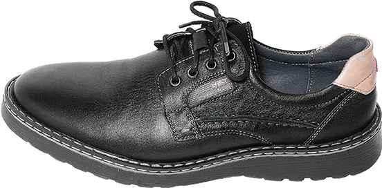 Обувь MooseShoes HRD черн. комфорты межсезонье