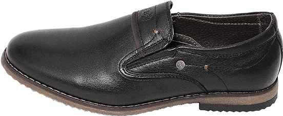 Обувь MooseShoes Model B черн. туфли межсезонье