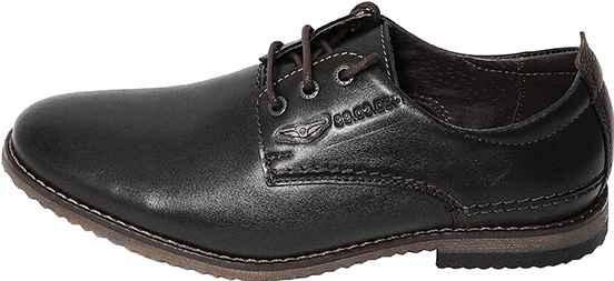 Обувь MooseShoes Авиатор черн. туфли больших размеров