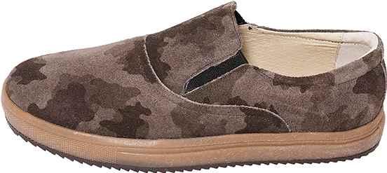 Обувь MooseShoes Катаклизм хаки кеды,слипоны с текстурой