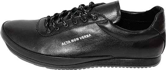 Обувь MooseShoes Acta Acta черн. кроссовки межсезонье