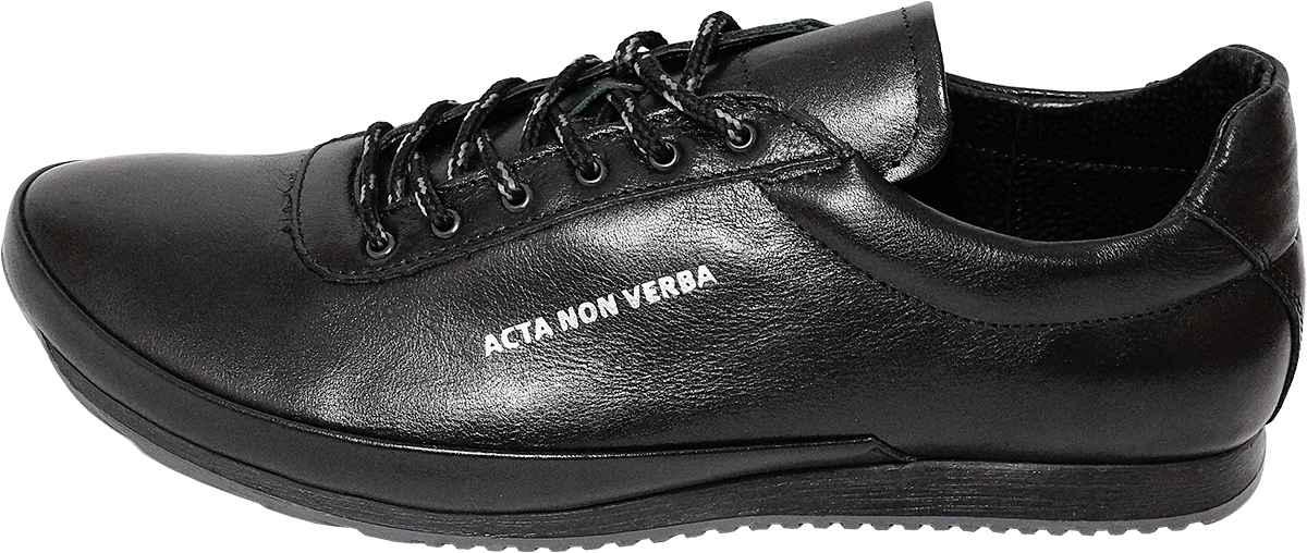 Обувь MooseShoes Acta Acta черн. кроссовки