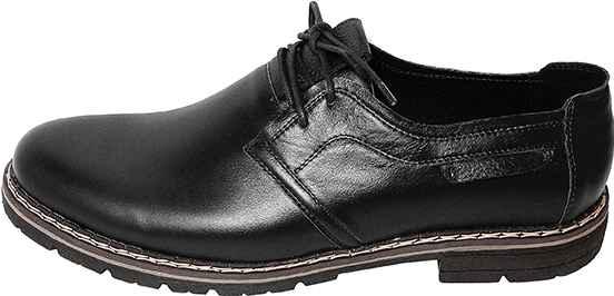 Обувь MooseShoes Max 63/1 К1 шн. черн. комфорты,полуботинки больших размеров