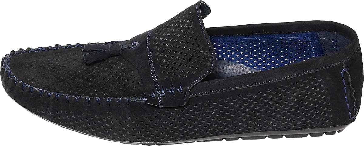 Обувь MooseShoes Khal син. мокасины
