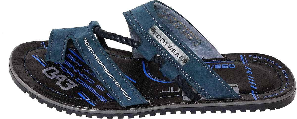 Обувь MooseShoes 9-1 син. шлёпанцы