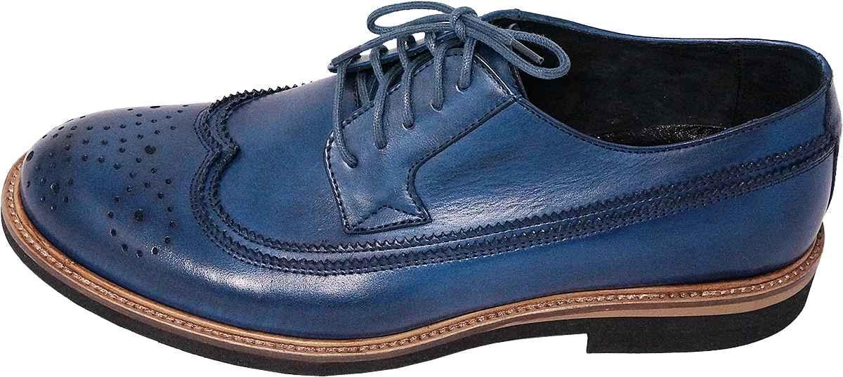 Броги Badura 7592-880 син. туфли