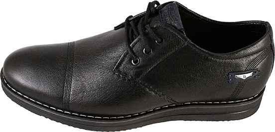 Обувь MooseShoes 366 черн. туфли межсезонье