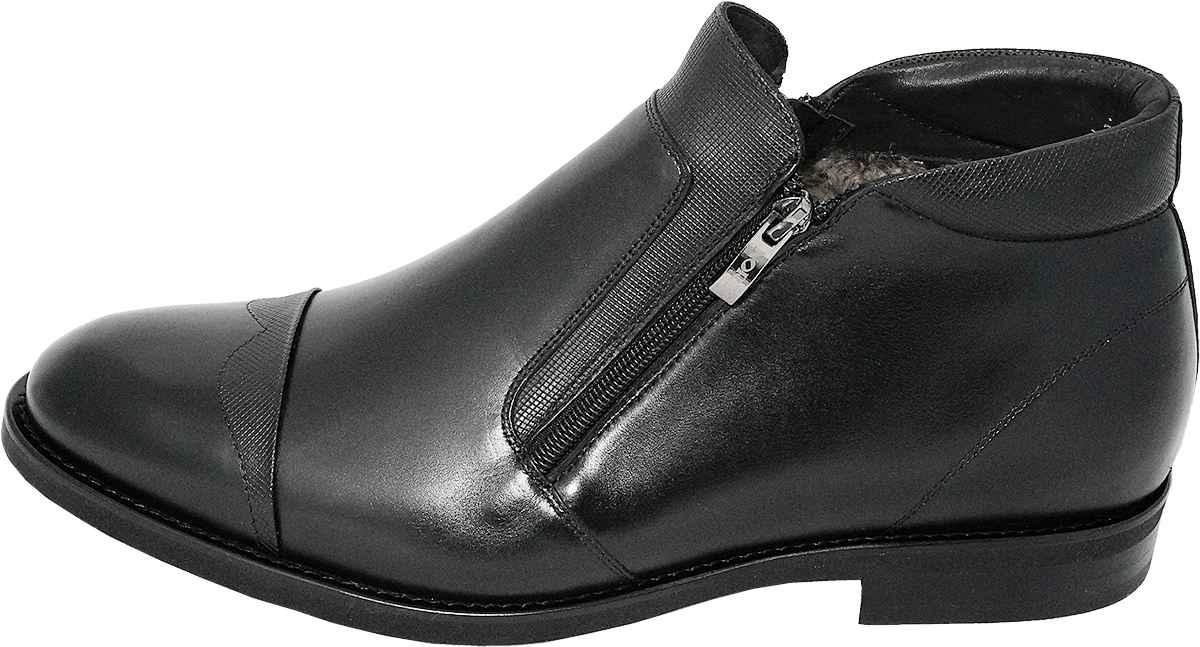 Обувь Nord Maybach 9335/B999/Мех черн. ботинки больших размеров
