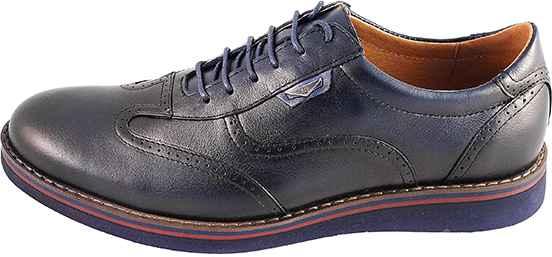 Обувь MooseShoes Brogue S2 син. туфли межсезонье