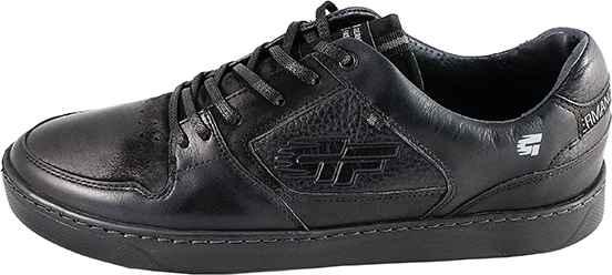 Обувь MooseShoes GF черн. кроссовки,кеды межсезонье