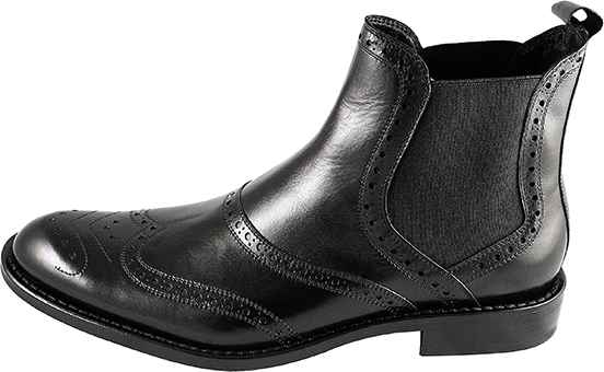 Обувь Nord Elite 4187/V272 черн. ботинки межсезонье
