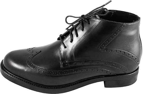 Броги Nord Aspen Collection 8574/B999/М черн. ботинки зима