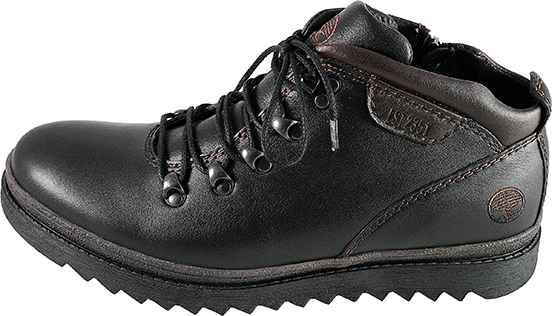 Обувь MooseShoes 0391 черн. ботинки зима
