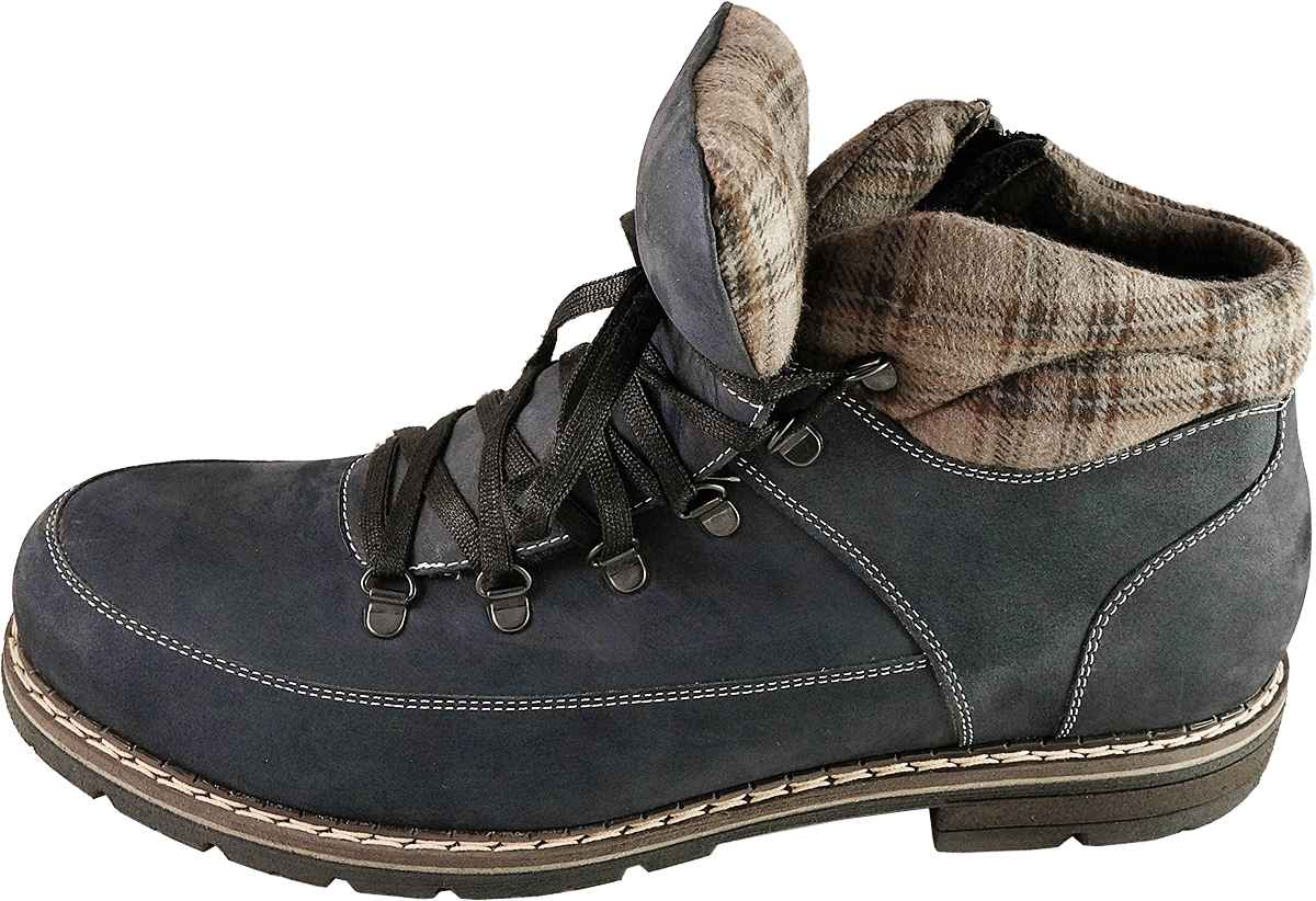Обувь MooseShoes Max М 075 син. ботинки,
