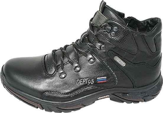 Обувь MooseShoes Арктика черн ботинки зима