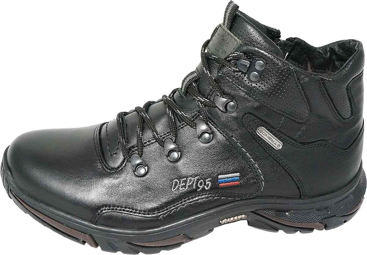 Обувь MooseShoes Арктика черн ботинки