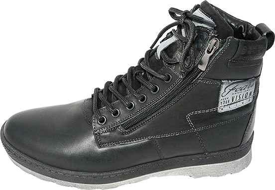 Обувь MooseShoes 059 черн. ботинки зима