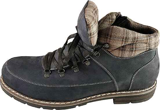 Обувь MooseShoes Max М075 син. мех ботинки,