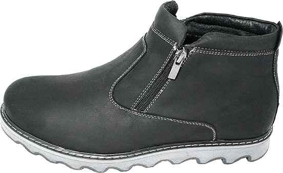 Обувь MooseShoes 99 черн. ботинки зима