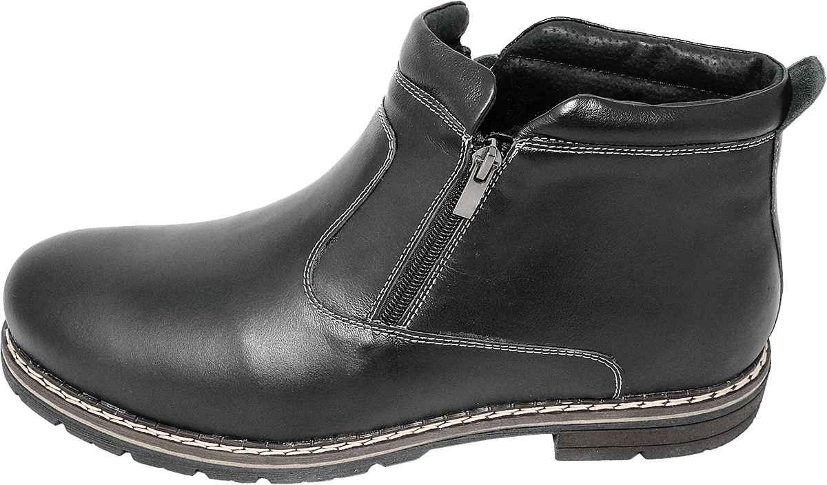 Обувь MooseShoes 99 черн. ботинки больших размеров