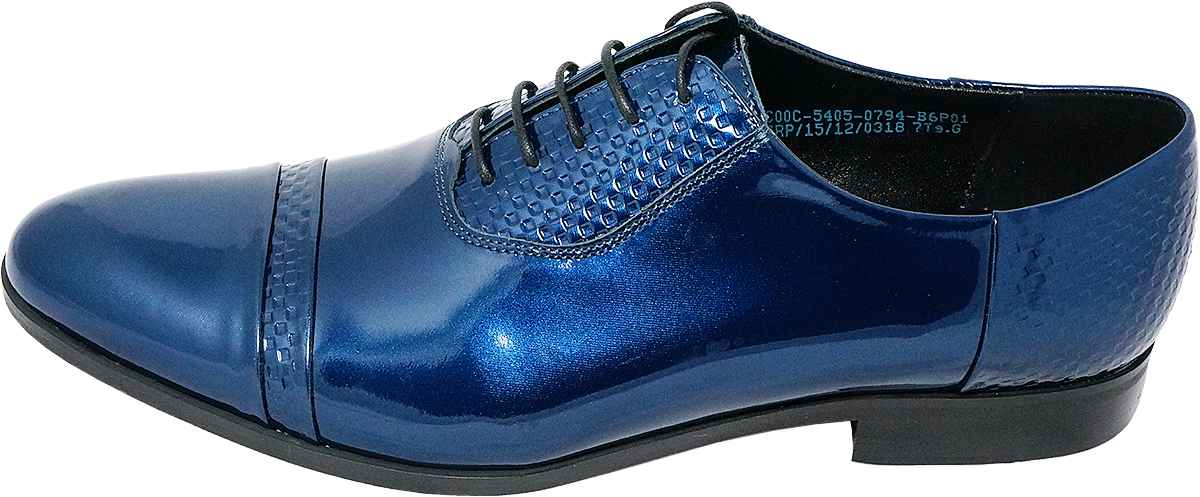 Обувь Conhpol 5405-0794 син. туфли лакированные