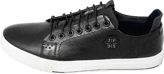 Обувь MooseShoes JF черн. кеды лето, межсезонье
