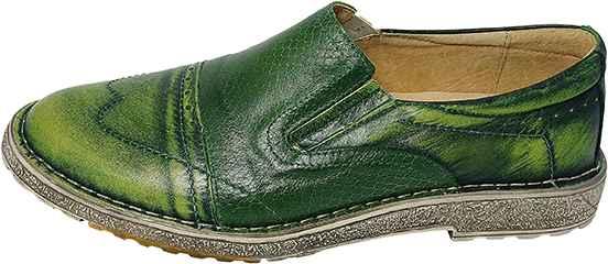 Обувь Kacper 1-1716-617-508-617-313 зел. туфли,полуботинки питон