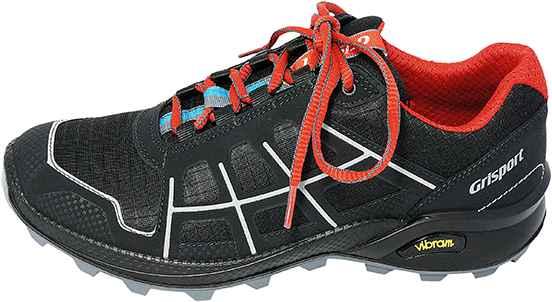 Обувь Grisport 13105 черн. кроссовки лето, межсезонье