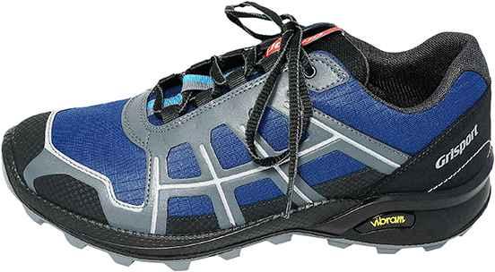 Обувь Grisport 13105S6 син. кроссовки больших размеров